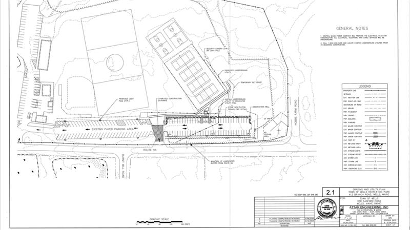 Lot Site Plan